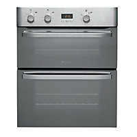 Hotpoint UHD83JX Built-Under Multifunction Oven- Inox