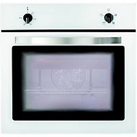 Matrix MS001WH Four Function Single Fan Oven - White