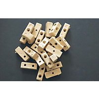 Fixing Block - Beige - 24 Piece