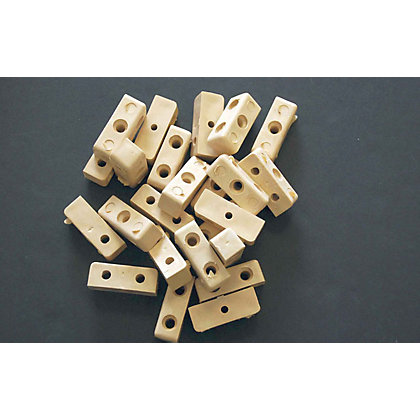 Image for Fixing Block - Beige - 24 Piece from StoreName