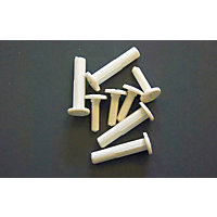 Connecting Bolt - White - 4 Piece