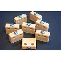 Assembly Blocks - Beige - 8 Piece