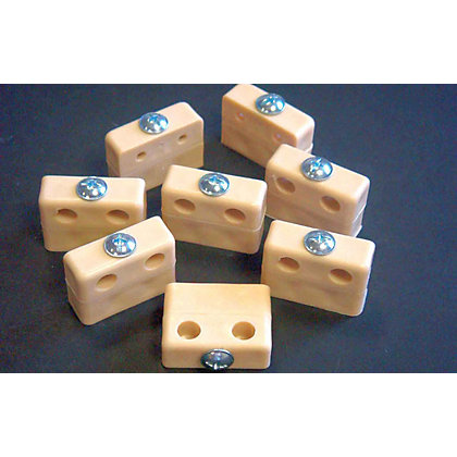 Image for Assembly Blocks - Beige - 8 Piece from StoreName