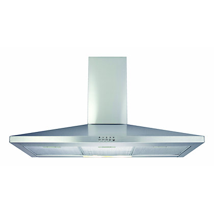 Image for Matrix MEH901SS Chimney Hood - 90cm - Stainless Steel from StoreName