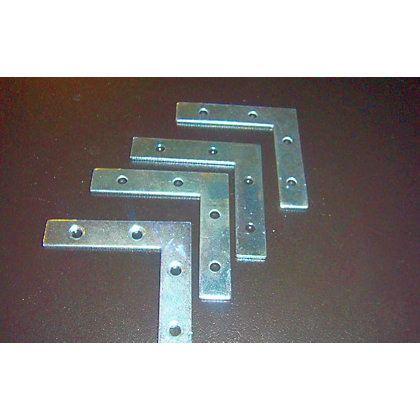 Image for Corner Plate - 63mm - 4 Piece from StoreName