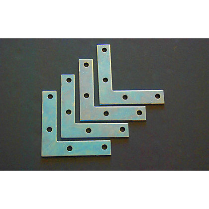Image for Corner Plate - 75mm - 4 Piece from StoreName