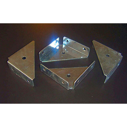 Image for Corner Plate Flange - 4 Piece from StoreName