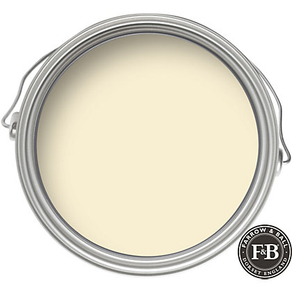 Image for Farrow & Ball Estate No.203 Tallow - Matt Emulsion Paint - 2.5L from StoreName