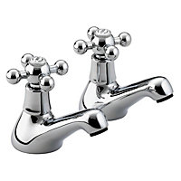 Bristan Regency Bath Taps - Chrome