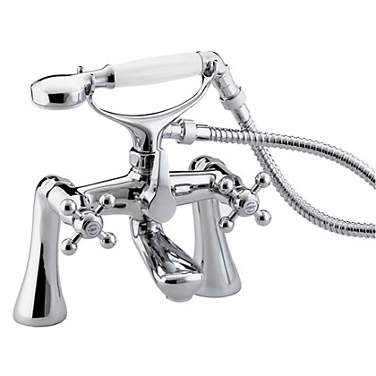 Image for Bristan Regency Bath Shower Mixer - Chrome from StoreName