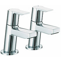 Bristan Pisa Basin Taps - Chrome