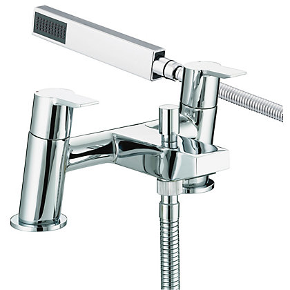 Image for Bristan Pisa Bath Shower Mixer - Chrome from StoreName