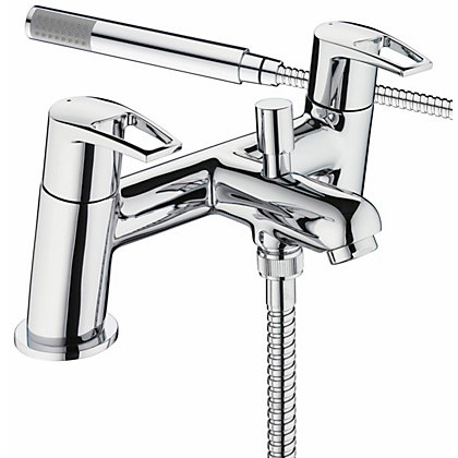 Image for Bristan Smile Bath Shower Mixer - Chrome from StoreName