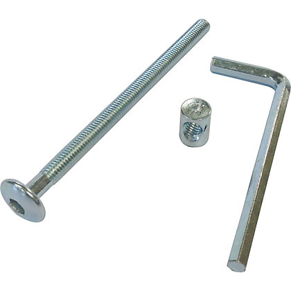 Image for ZP bolts inc allen key M6 x 100mm pk 4 from StoreName