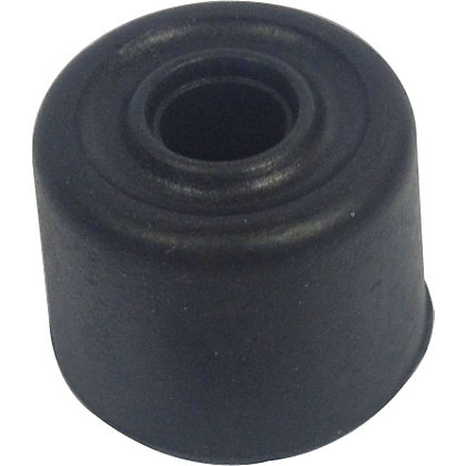 Image for 25mm Black Rubber Door Stop - 6 Pack from StoreName