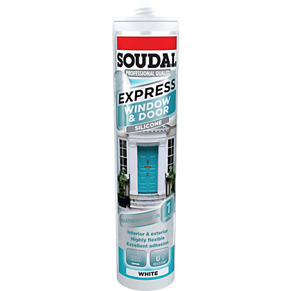 Image for Soudal Express Frame Sealant - White from StoreName