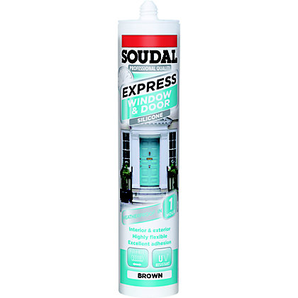 Image for Soudal Express Frame Sealant - Brown from StoreName