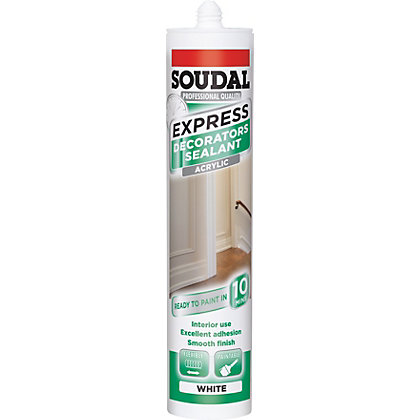 Image for Soudal Express Decorative Sealant - White from StoreName
