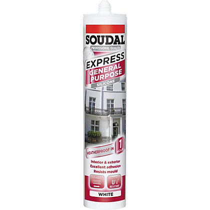 Image for Soudal Express General Purpose Sealant - White from StoreName