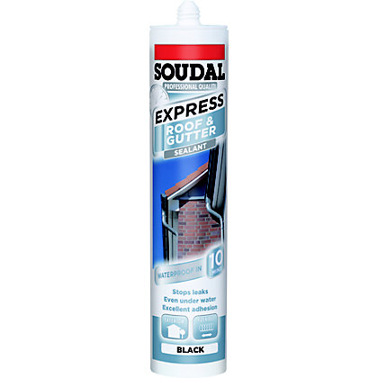 Image for Soudall Express Roof & Gutter Sealant - Black from StoreName