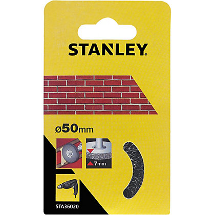 Image for Stanley 50mm Wire Wheel Brush - STA36020-XJ from StoreName
