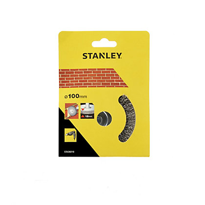 Image for Stanley 100mm Wire Wheel Brush - STA36010-XJ from StoreName