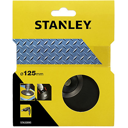 Image for Stanley 125mm Drill Backing Pad - STA32095-XJ from StoreName