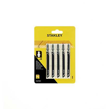 Image for Stanley 5 Pc Jigsaw Blade Mixed - STA27025-XJ from StoreName