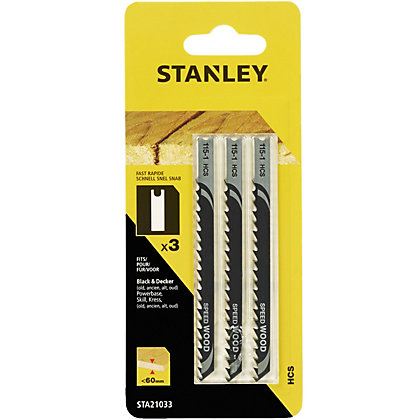 Image for Stanley Jigsaw Blade Wood - STA21033-XJ from StoreName