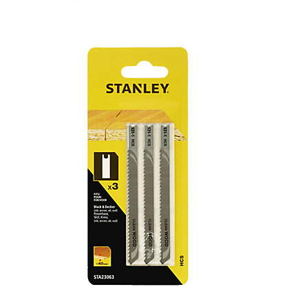 Image for Stanley Jigsaw Blade (Down Cutting) - STA23063-XJ from StoreName