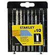 Stanley 10Pc Mixed Jigsaw Blades U - STA28020-XJ