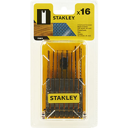 Image for Stanley 16 Pc Jigsaw Blade Set - STA28170-XJ from StoreName