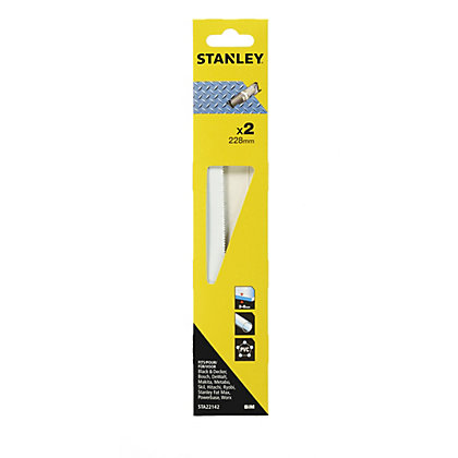 Image for Stanley Recip Saw Blades Metal 228mm - STA22142-XJ from StoreName
