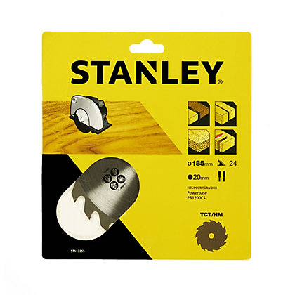 Image for Stanley Circular Saw Blade 185x20x24T - STA13355-XJ from StoreName