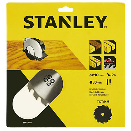 Image for Stanley Circular Saw Blade 210x30x24T - STA13040-XJ from StoreName