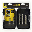 Fatmax 13Pc Metal Drill Set - STA88100-XJ