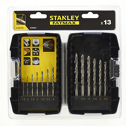 Image for Fatmax 13Pc Metal Drill Set - STA88100-XJ from StoreName