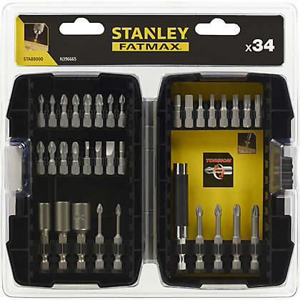 Image for Fatmax 33Pc Torsion Screwdriver Bit Set  - STA88000-XJ from StoreName