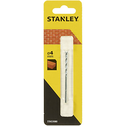 Image for Stanley Masonry Drill Bit 4 x 75mm - STA53080-QZ from StoreName