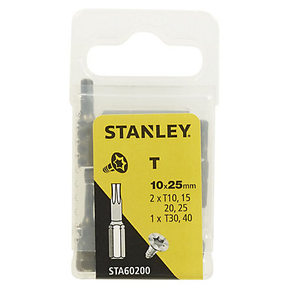 Image for Fatmax 10Pc Mixed Torx 25mm - STA60200-XJ from StoreName
