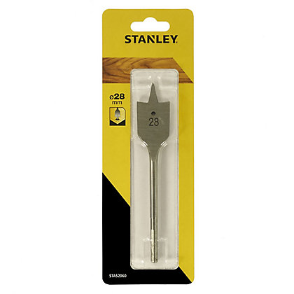 Image for Stanley Flatwood Bit 28mm - STA52060-QZ from StoreName