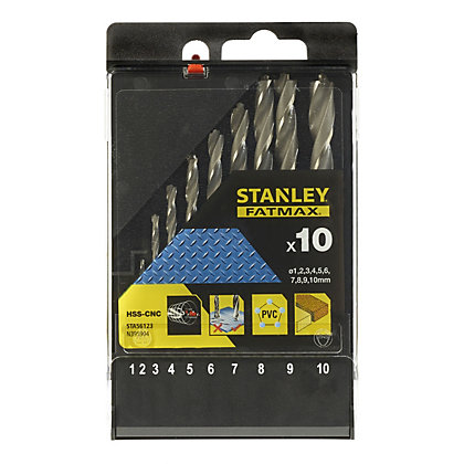 Image for Fatmax 10Pc Bullet Metal Drill BitSet -STA56123-XJ from StoreName