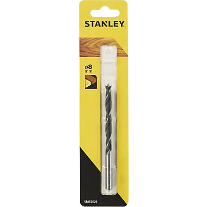 Image for Stanley Bradpoint Drill Bit 8mm -STA52026-QZ from StoreName