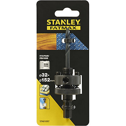Image for Fatmax BiMetal Holesaw Mandrel 32-152mm - STA81097-XJ from StoreName