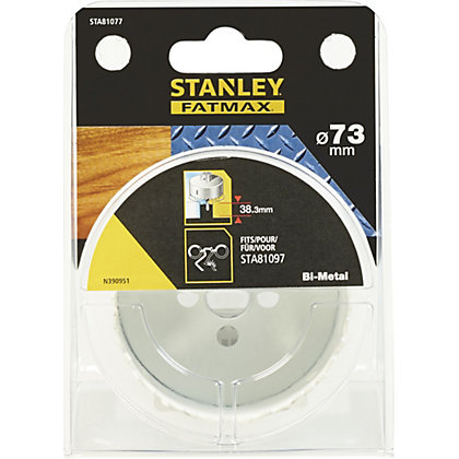 Image for Fatmax BiMetal Holesaw 73mm - STA81077-XJ from StoreName