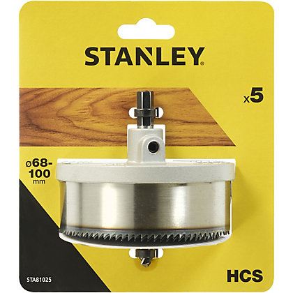 Image for Stanley Holesaw Set 5Pc (68-100mm) - STA81025-XJ from StoreName