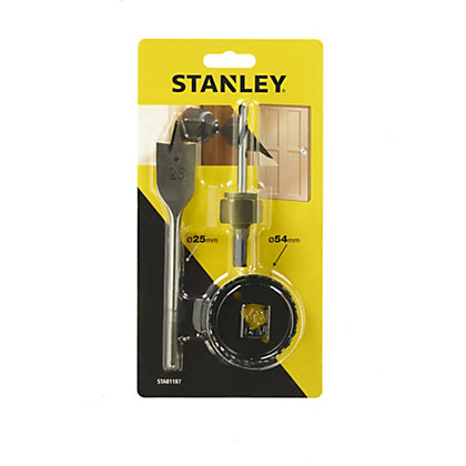 Image for Stanley Door Handle Fixing Project Kit - STA81187-XJ from StoreName