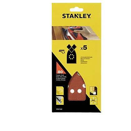 Image for Stanley Sanding Sheets - 80G - STA31442-XJ from StoreName