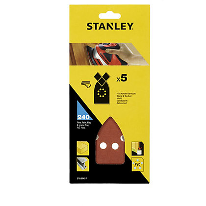 Image for Stanley Sanding Sheets - 240G - STA31457-XJ from StoreName