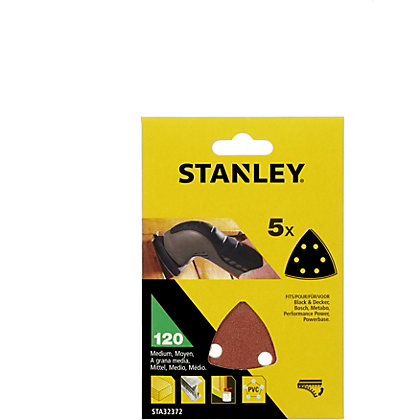 Image for Stanley Delta Head Sanding Sheets 120G - STA32372-XJ from StoreName